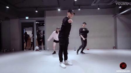 [我很潮] 韩国1m舞室 曲名missing U Usher帅气小鲜肉 J Ho 镜面编舞