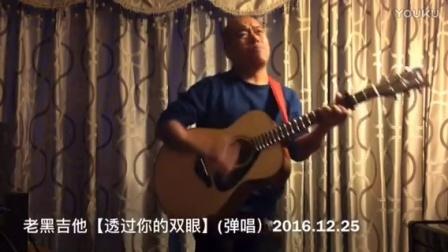 老黑吉他【透过你的双眼】(弹唱)