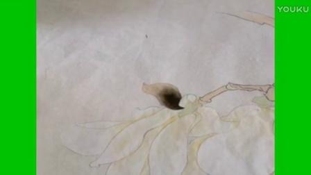 跟乐知轩主(耿老师)学工笔画—玉兰花(2)