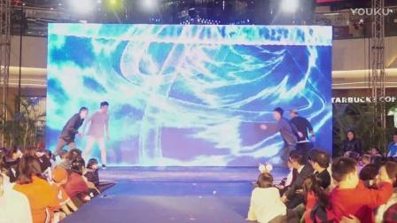 TOP街舞万达圣诞平安夜学员展街舞比赛活动蒲奕君老师编排BREAKING节目【TOP MAN】