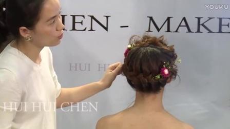 男生发型8新娘跟妆(6)8中式新娘发型图片