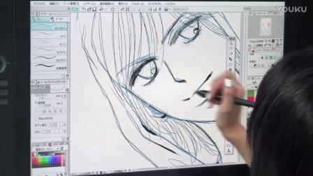 日本漫画家HIURA SATORU老师优动漫视频教学