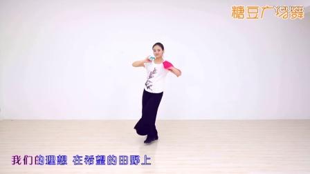 糖豆广场舞课堂《在希望的田野上》山东秧歌风格