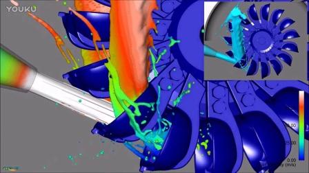 后处理案例:冲击式水轮机CFD仿真与模拟