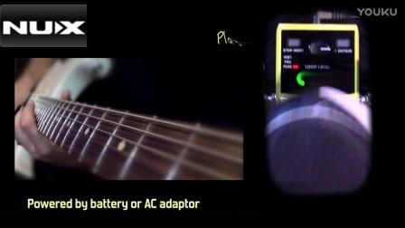 NUX octave loop 八度乐句循环单块效果器 演示视频