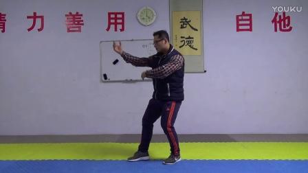 劈拳发力技巧一:砸桩 打活桩
