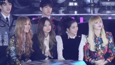 【臻】161226 sbs 歌谣大战 blackpink对bigbang fxxk it舞台 reaction