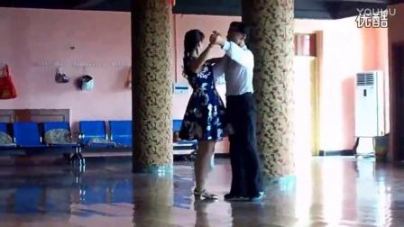 慢三步舞基本步教学爱的华尔兹舞蹈