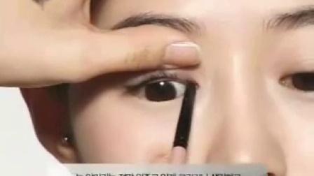 超简单眉眼心机化妆术