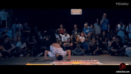 [我很潮] 红牛街舞大赛2016 法国站lil g & mini joe vs lil kev & mounir 2v2 red bul