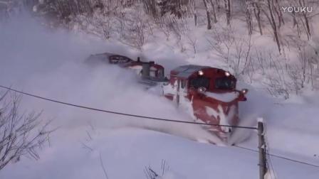 2016日本北海道的铲雪火车