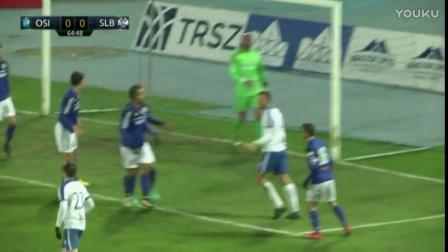 HNTV sažetak- OSIJEK vs SLAVEN BELUPO 1-0 (1-4 finale - Hrvatski nogometni kup