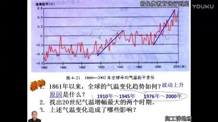 高工讲地理人教版高中地理1必修第二章地球上的大气第四节全球气候变化