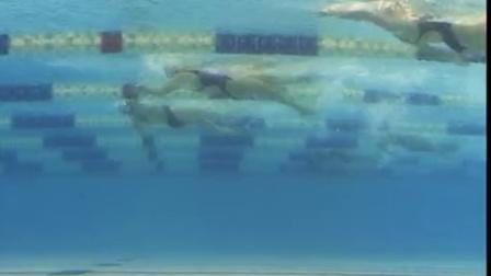 我媳妇于锐-多哈亚运会-女子400米混合泳比赛水下动作视频