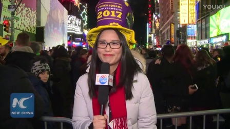 New York, Times Square - New Year's Eve 2017 Countdown ★