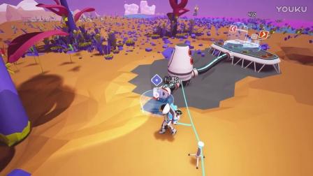 【微声试玩】《异星探险家》(ASTRONEER)神TM树上长矿和图纸!!