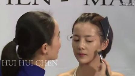 韩式婚纱照新娘发型8化妆师培训零基础入门(11)8各种新娘造型
