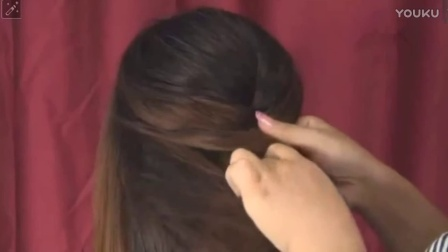 好看的卷发造型 齐肩短发怎么扎 扎头发技巧