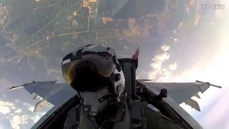 美军飞行员第一视角带你飞行
