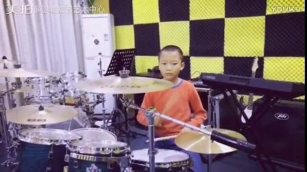 澄城知音艺术中心  一年级小朋友 俞浩哲 架子鼓独奏