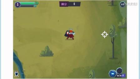 【有趣的小游戏合集】断剑行动 维京海盗玩转高科技武器 射击小游戏