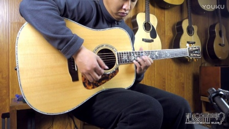 Morris tf500d手工吉他评测试听 沁音原声