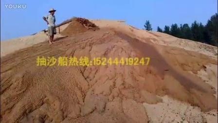 小型抽沙船产量很大