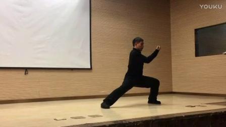 陈自强老师在北京表演太极拳