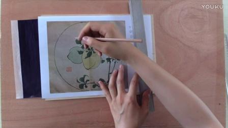 """版画初级—水印版画的""""上版""""和""""刀法""""微课-吕源"""