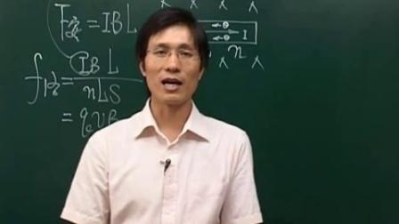 高二物理-课堂实录23第24讲磁场对运动电荷的作用力