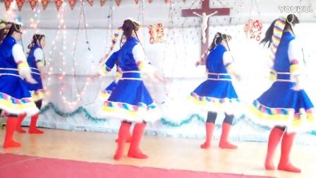 天主教草原儿女为主欢唱舞蹈