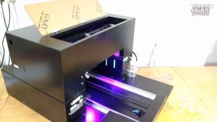 UV平板打印机-手机壳LED-UV打印打印过程_高清