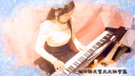 周杰伦《一万公里的约定》主题曲《蜗牛》钢琴陶笛合奏:PianoKitty