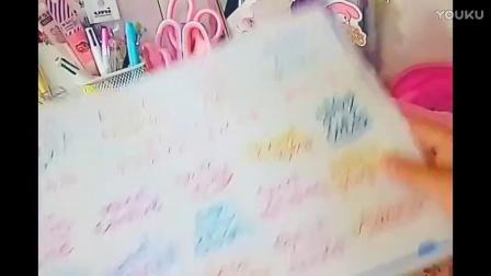 今日文具and面膜and手帐素材购物分享~
