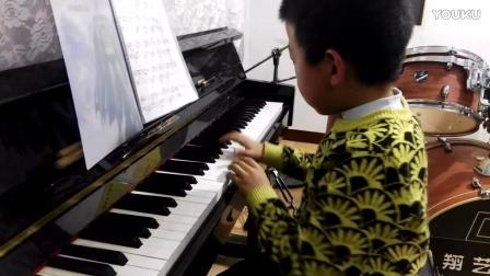 宁武县宏翔艺术培训中心:8岁赵臻简易钢琴曲《献给爱丽丝》