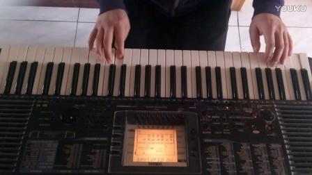 电子琴演奏《朋友别哭》