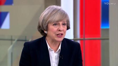 2017-1-8英国首相 May接受Skynews电视台采访