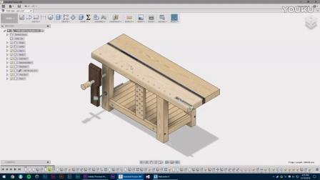 124  Roubo Workbench #1 Intro & Design 木工桌#1介绍和设计