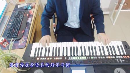 电子琴演奏(没有你陪伴我真的好孤单)