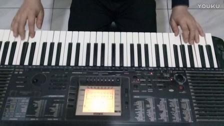 电子琴演奏《自由飞翔》
