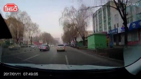 红色起亚K3车主别车险酿事故