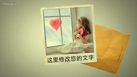 (162)信封照片小孩儿童可爱图片
