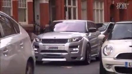 2016 伦敦街头实拍哈曼改装路虎揽胜极光 Hamann Range Rover Evoque_汽车之家价格测评测20167