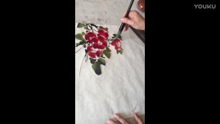 【舞墨教育】国画入门一招掌握花鸟画技法精要(1)