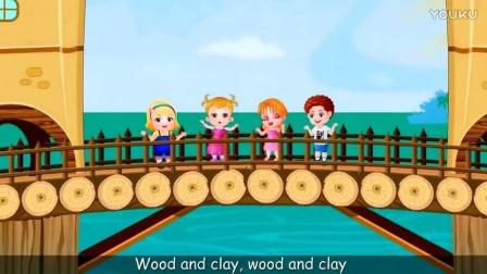 London Bridge is Falling Down - Nursery Rhymes for Kids