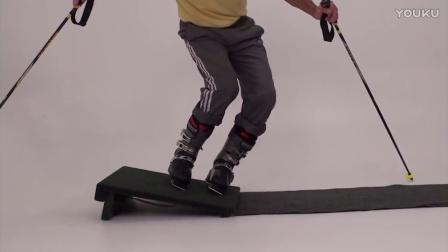钢蛋滑雪-在家也能练的双板滑雪立刃教程06