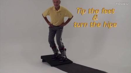 钢蛋滑雪-在家也能练的双板滑雪立刃教程09