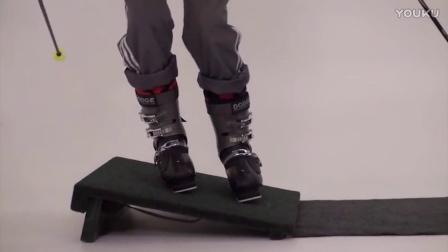 钢蛋滑雪-在家也能练的双板滑雪立刃教程04
