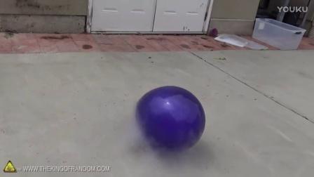 往气球里灌满液氮会怎么样呢?