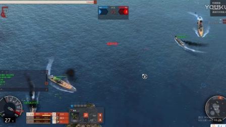 《大海战4》超级大和与爱荷华一起击沉俾斯麦号